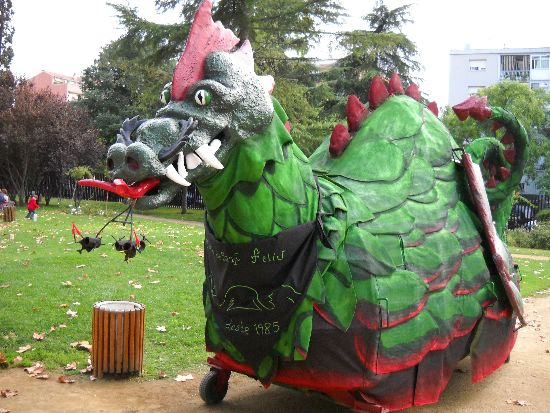 El drac de sant feliu agrupaci del bestiari festiu i - El tiempo sant feliu de llobregat ...