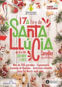 Cartell de la 17a Fira de Santa Llúcia de Canyelles