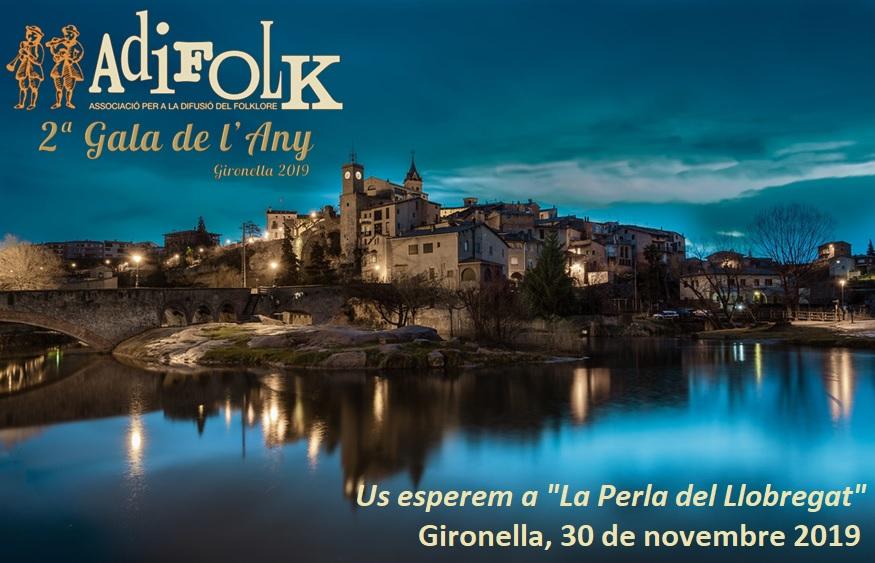 Cartell de la 2a Gala de l'Any d'Adifolk