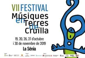 Cartell Festival Músiques en Terres de Cruïlla