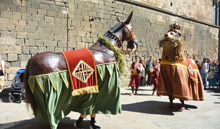El Lleó i la Mulassa de Barcelona