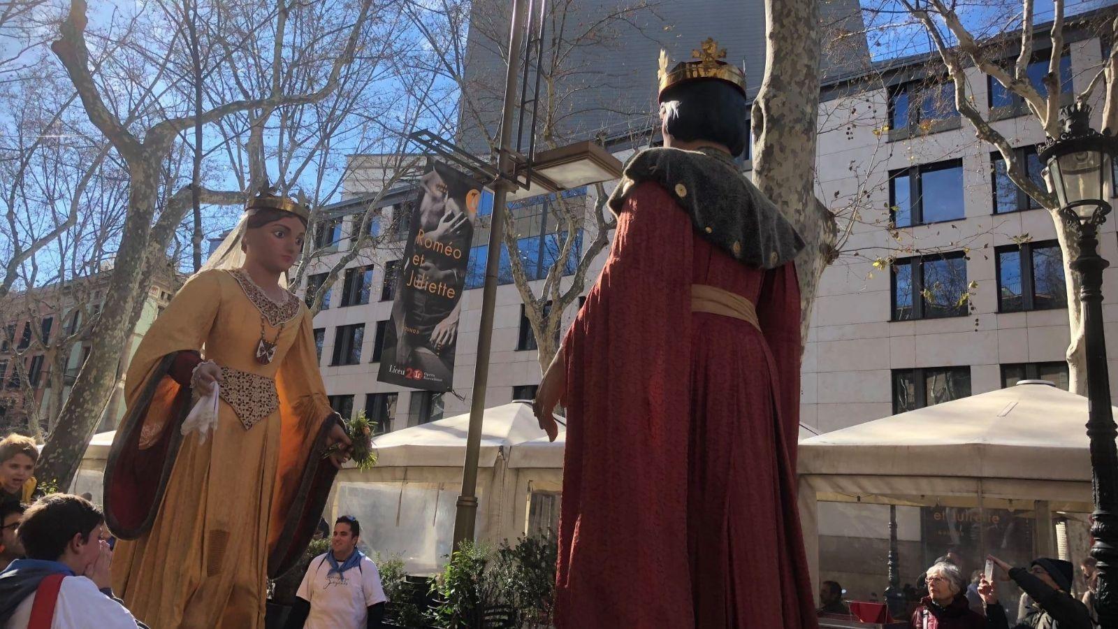 Gegants de Sant Pere de les Puel·les