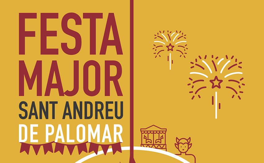 Cartell de la Festa Major de Sant Andreu 2019