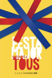 Cartell de la Festa Major de Sant Martí de Tous