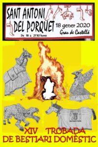 Cartell XIV Trobada de Bestiari Domèstic de Castelló