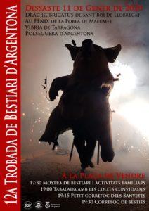 Cartell de la 12a Trobada de Bestiari d'Argentona
