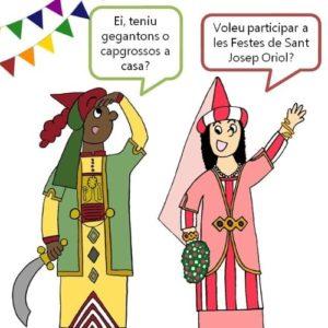 Cartell festes Sant Josep Oriol