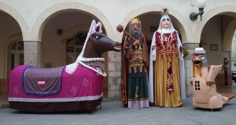 Figures satíriques Carnaval de Valls
