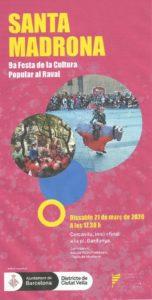 Cartell 9a Festa de la Cultura Popular al Raval