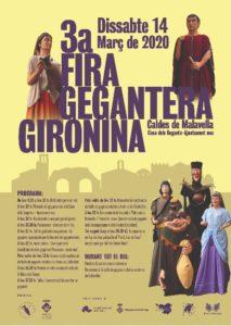 Cartell Fira Gegantera Gironina