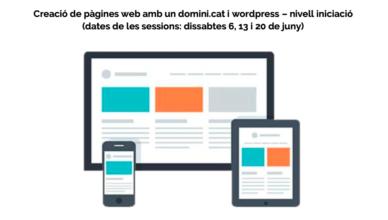 Creació pàgines web