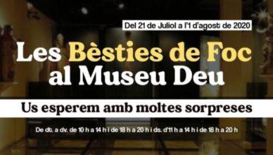 Exposició de bèsties al Museu Deu