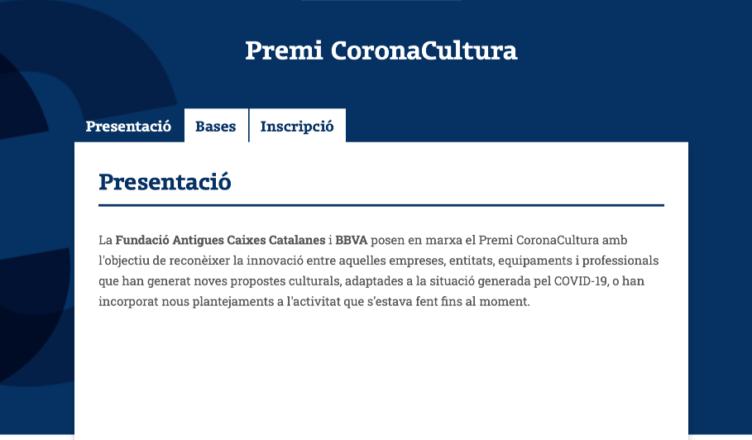Premi Corona Cultura