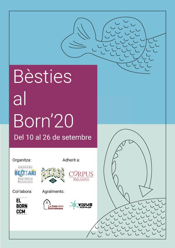 Cartell Exposició Bestiari Born